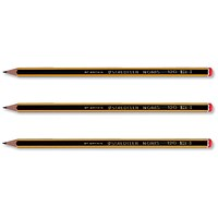 Staedtler 120 Noris Pencil, Cedar Wood, 2B Orange Cap, Pack of 12