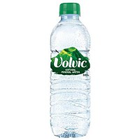 Volvic Natural Mineral Water - 24 x 500ml Plastic Bottles