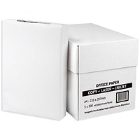 Everyday A4 Multifunctional Paper, White, 75gsm, Box (5 x 500 Sheets)