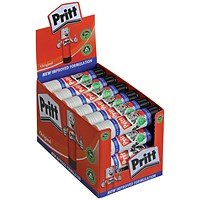 Pritt Stick Glue, Large, 43g, Pack of 24