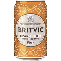 Britvic Orange - 24 x 330ml Cans