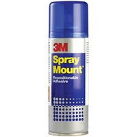 3M SprayMount Adhesive Spray Can - 400ml