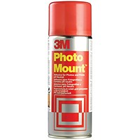 3M PhotoMount Adhesive Spray Can - 400ml