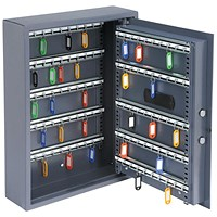 High Security Key Safe, Electronic Key Pad, 100 Key Capacity, 30mm Double Bolt Locking