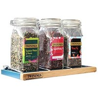 Twinings Kilner Jars & Tray - Set of 3