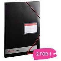 Black n' Red Display Book, Opaque, Buy 1 Get 1 Free