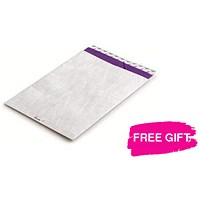 Jiffy Airkraft No.4 Bubble Bag Envelopes / 230x320mm / Gold / Pack of 50 / FREE Marker Pens