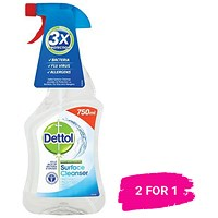 Dettol Surface Cleanser Spray / 750ml / Buy 1 get 1 free