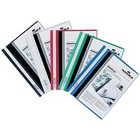Durable A4 Duraplus Quotation Folders, Assorted, Pack of 25