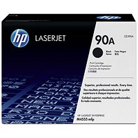 HP 90A Black Laser Toner Cartridge