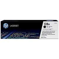 HP 128A Black Laser Toner Cartridge (Twin Pack)