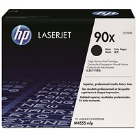 HP 90X Black Laser Toner Cartridges (Twin Pack)