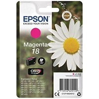 Epson 18 Magenta Inkjet Cartridge