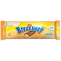 Nestle Breakaway Milk Chocolate Covered Biscuits, Individually Wrapped, Pack of 8