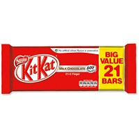 Nestle 2 Finger KitKats - 21 Bars