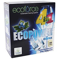 Ecoforce 4 in 1 Dishwasher Tablets - Box of 100