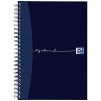 Oxford MyNotes Wirebound Notebook, A5, 100 Pages, Pack of 5