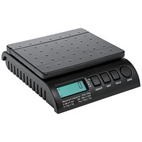Postship Multi Purpose Scale, 2g Increments, Capacity16kg, Black
