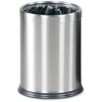 Rubbermaid Hideabag Bin / 13.2 Litres / W241xH318mm / Stainless Steel
