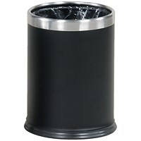 Rubbermaid Hideabag Bin, 13.2 Litres, W241xH318mm, Black