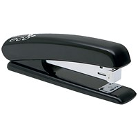 Rapesco Eco Full Strip Stapler with Recycled ABS Casing, For 24/6 & 26/6 Staples, Black