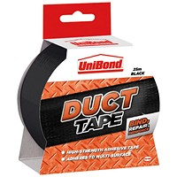 UniBond Duct Tape, 50mm x 25m, Black