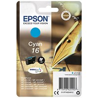 Epson 16 Cyan Inkjet Cartridge