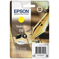 Epson 16 Yellow Inkjet Cartridge