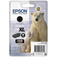 Epson 26XL High Yield Black Inkjet Cartridge