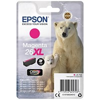 Epson 26XL High Yield Magenta Inkjet Cartridge