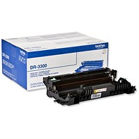 Brother DR3300 Black Laser Toner Drum Unit