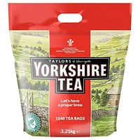 Yorkshire Tea Bags - Pack of 1040
