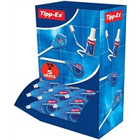Tipp-Ex Easy-correct Correction Tape Roller, 4.2mmx12m, Pack of 20