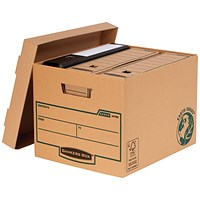 Fellowes Bankers Box Earth Series Heavy Duty Boxes - Pack of 10