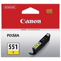 Canon CLI-551 Yellow Inkjet Cartridge