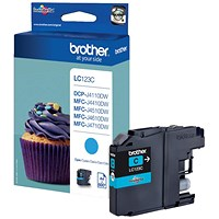 Brother LC123C Cyan Inkjet Cartridge