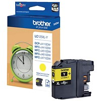 Brother LC125XLY High Yield Yellow Inkjet Cartridge