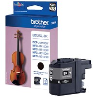 Brother LC127XLBK Black Inkjet Cartridge