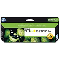 HP 971XL High Yield Yellow Ink Cartridge