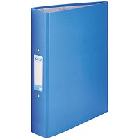 Elba Ring Binder, A4, 2 O-Ring, 25mm Capacity, Blue