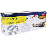 Brother TN241Y Yellow Laser Toner Cartridge