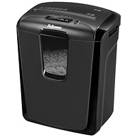 Fellowes M-8C Shredder Cross Cut 15 Litres P-3