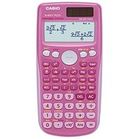 Casio Scientific Calculator Natural Display / 260 Functions / Pink
