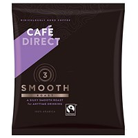 Cafe Direct Smooth Medium Roast Filter Coffee, 60g Sachets, Pack of 45