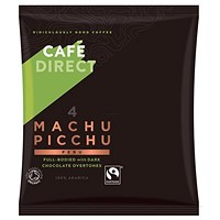 Cafe Direct Machu Picchu Peruvian Fairtrade Filter Coffee, 60g Sachets, Pack of 45
