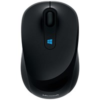 Microsoft Sculpt Mobile Mouse, Wireless, Black