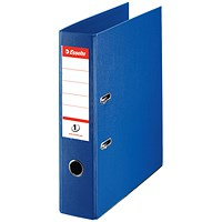Esselte No. 1 Power A4 Lever Arch Files, Blue, Pack of 10