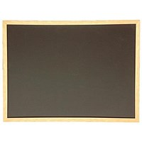 5 Star Chalkboard Wooden Frame - W900 x H600mm