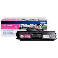 Brother TN329M Super High Yield Magenta Laser Toner Cartridge