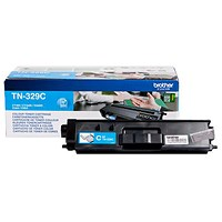 Brother TN329C Super High Yield Cyan Laser Toner Cartridge